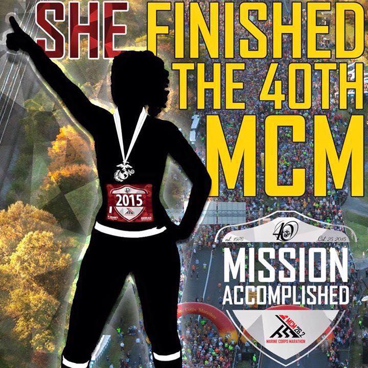 Marine Corps Marathon – my first marathon